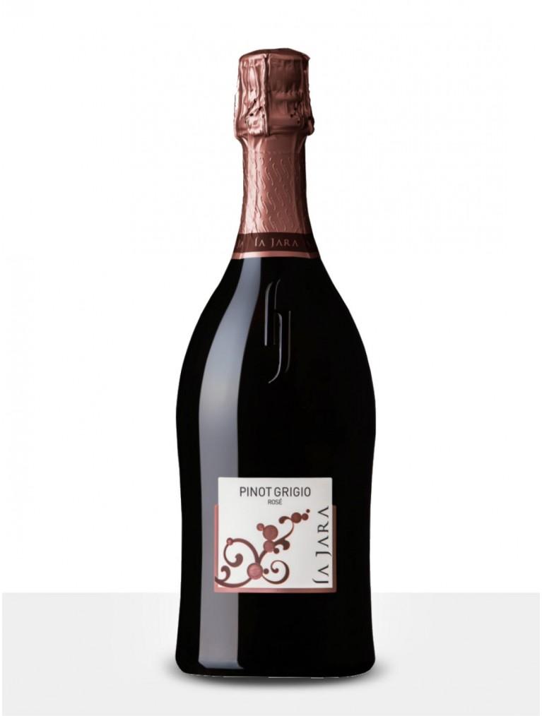 La Jara Pinot Grigio Rosé Spumante Brut